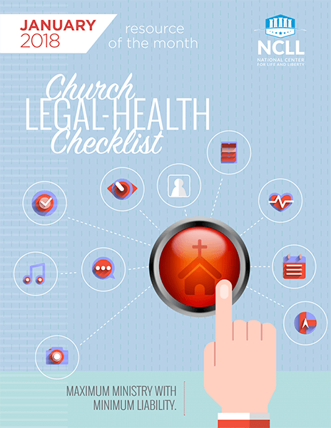 Church Legal Health Checklist National Center For Life And Liberty